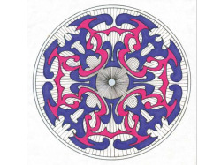 Students will learn the intricacies of drawing a kaleidoscope with Connie Youman's one-day art workshop.